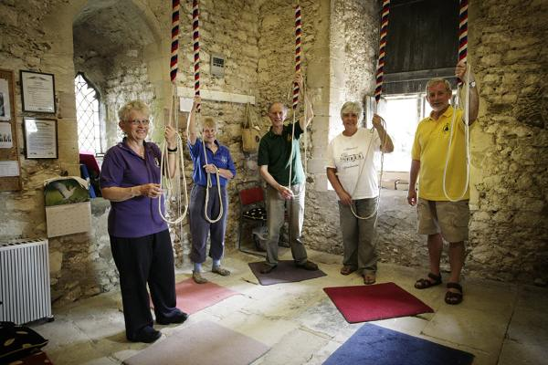St. Mary's, Holme-next-the-Sea bell ringers